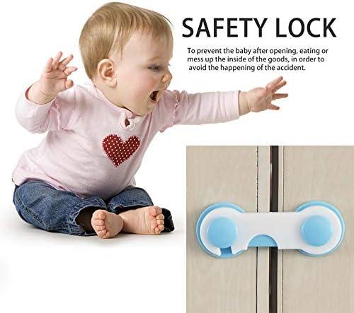Ni/ño Ni/ños Caja Caj/ón Armario Armario Armario Puerta Nevera Cerradura de seguridad Gabinete Cerraduras y Correas Seguridad para beb/és