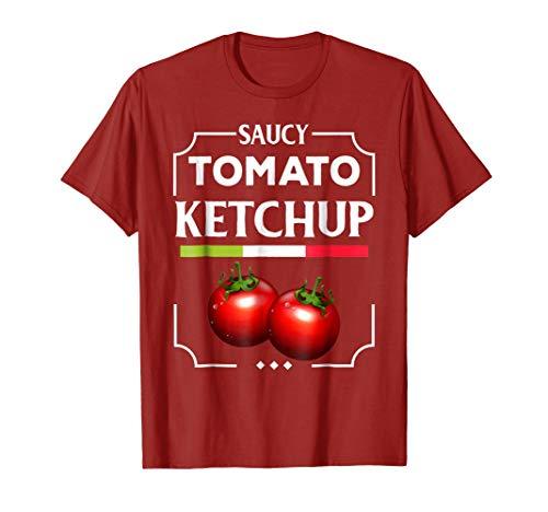 Group Halloween Costume Yummy Ketchup Mustard Relish T