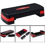 TNP Accessories Aerobico Step Step Steps Ejercer Cardio Gimnasio Yoga home Ejercicio Pilates Platform Ajustable Step Board Fitness alto