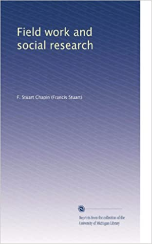 Lataa pdf ebook Field work and social research PDF RTF B0030GEYKS