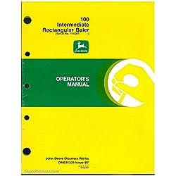 OME91329-B7 Used John Deere 100 Intermediate Recta