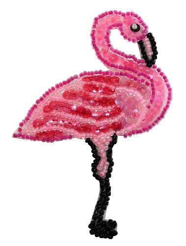 Beaded Flamingos - 6