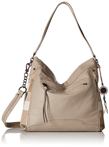 The Sak Tahoe Leather Hobo, Shadow Exotic Patch