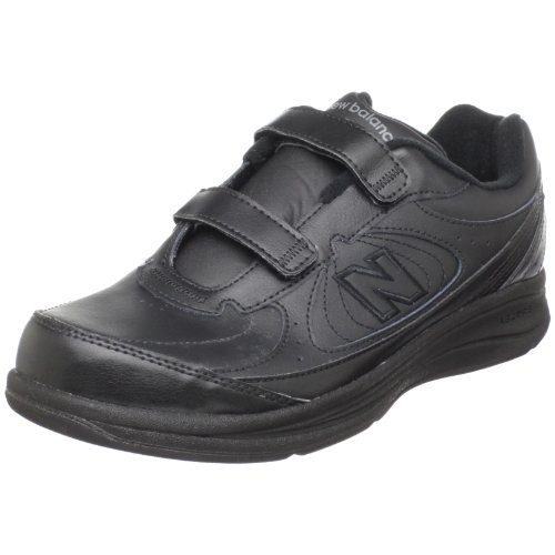 """New Balance Women's WW577 Walking Velcro Shoe,Black,11 D US"""