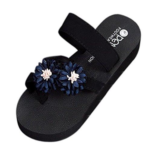 witspaceレディース夏ビーチバススリッパWedge Flip Flopsスリッパ靴