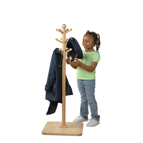 E-Z Reach Classroom Clothes Tree For Kids (Childrens Clothes Tree)