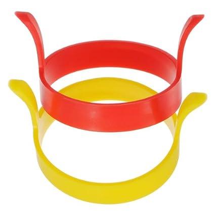 Amazon.com: [Free Shipping] Kitchen Silicone Fried Egg Device Round Ring Cook Mould Modelling // Cocina de silicona anillo redondo dispositivo de huevo ...