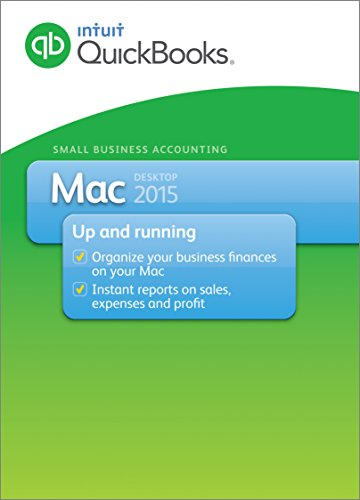 QuickBooks Mac Small Business Accounting Software 2015 (Old Version)