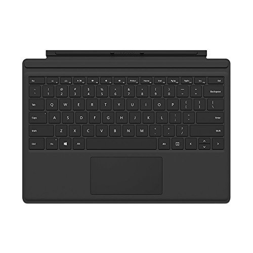 Microsoft Surface Pro 4 Type Cover - Black (Certified Refurbished) by Microsoft