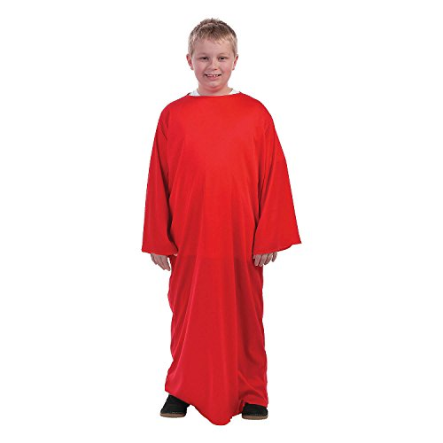 Kids' Red Nativity Gown - ()