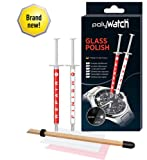 polyWatch glass polishing cream repair watches, smartphone, car, furniture, household, window