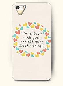 I'm in love with you..and all your little things-iPhone 4/4s/4g back plastic case