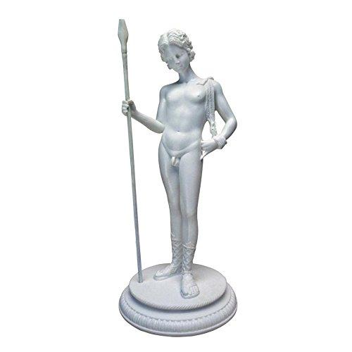 Marble Resin - Design Toscano Dionysus Greek God of Fertility Bonded Marble Resin Statue, White