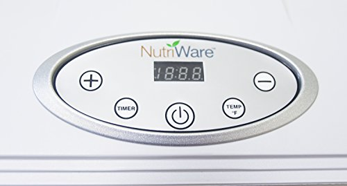 Aroma NFD-815D Nutriware Extra Large Digital Food Dehydrator, White by Aroma Housewares (Image #3)