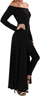 product image for Funfash Women Black Pants Leggings Cape Dress Jumpsuit Bodysuit Made in USA