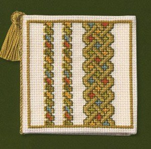 Textile Heritage Needle Case Counted Cross Stitch Kit - Celtic Knot