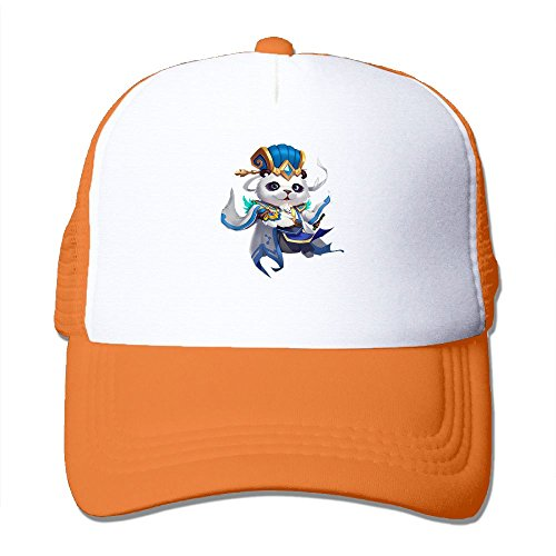 fan products of Antonia Surrey Funny Panda Bear Love Basketball Baseball Cap Stretch Fit Cap Vintage Hat Baseball Cap Tactical Cap One Size Fits All Hat Orange