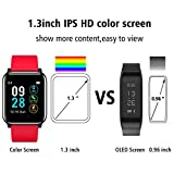L8star Fitness Tracker,1.3'' Large Color Screen