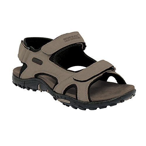 Regatta Great Outdoors - Sandalias / Chanclas Modelo Haris hombre caballero Negro
