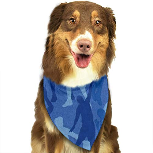 OURFASHION Basketball Player Bandana Triangle Bibs Scarfs Accessories for Pet Cats and Puppies.Size is About 27.6x11.8 Inches (70x30cm). -