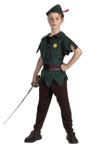 Peter Pan Standard Toddler Costume: Size 3T-4T