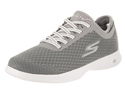 Skechers Performance Womens Go Step Lite-Agile Walking Shoe Gray