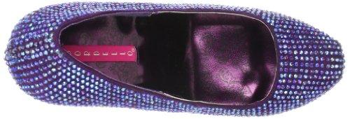 Pump Rose Polyurethane Irid Platform Women's Teeze 06R Satin PPSA Pleaser XqTpz7w