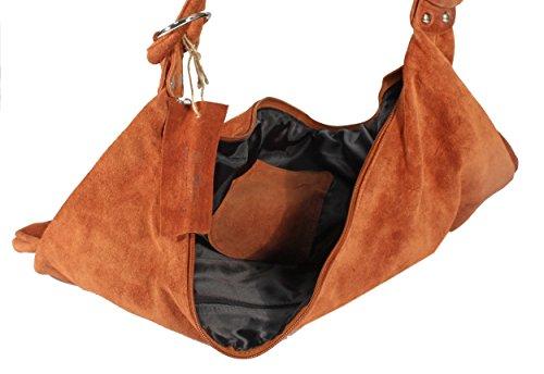 marron l'épaule à femme pour reddish Rodhschild à brown cognac porter Sac 7x1YY0w