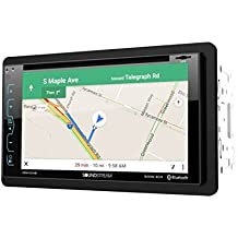 """Soundstream VRN-65HB 2-DIN GPS/DVD/CD/MP3/AM/FM Receiver with 6.2"""" LCD/Bluetooth/MobileLink X2"""