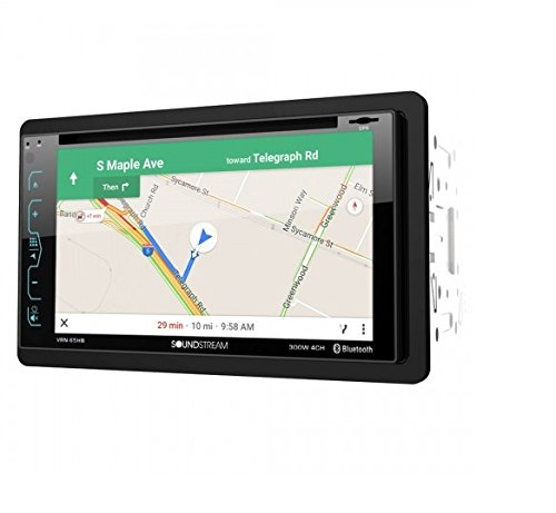 Mitsubishi Lcd Displays - Soundstream VRN-65HB 2-DIN GPS/DVD/CD/MP3/AM/FM Receiver with 6.2