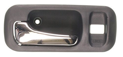 Honda CR-V Interior Door Handle Black with Chrome Lever Driver (Honda Crv Interior)
