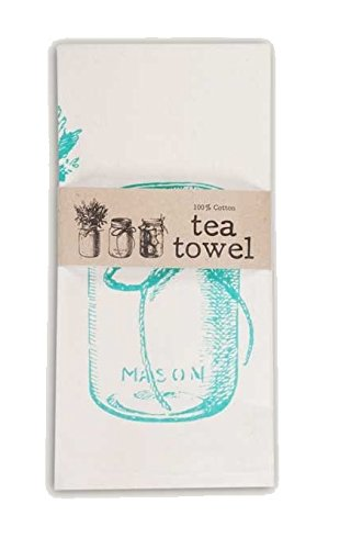 Backroads Collection Cotton Tea Towel 20 X 28 (Canning Jars)