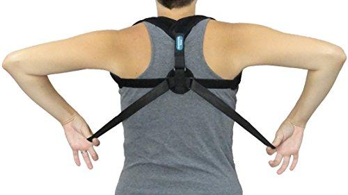 Back Posture Corrector for Men & Women – Adjustable Clavicle Support Brace – Improve Poor Posture, Slouched Shoulders, Hunchback & Computer Posture by Anastasia's River