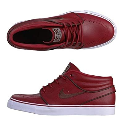best sneakers c2315 a056b Amazon.com  Nike Sb Stefan Janoski Mid Premium - Barn dark Oak Sz 7  Shoes