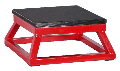 Ader Red Plyometric Platform Box (6'' Red)