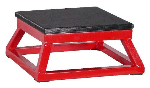 Ader Red Plyometric Platform Box (6'' Red) by Ader Sports (Image #1)