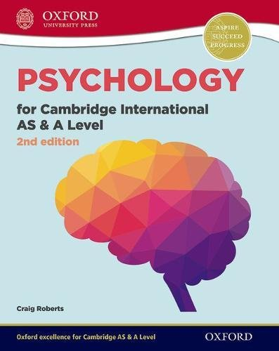 Psychology for Cambridge International AS and A Level Student Book: For the 9990 syllabus (CIE A Level)