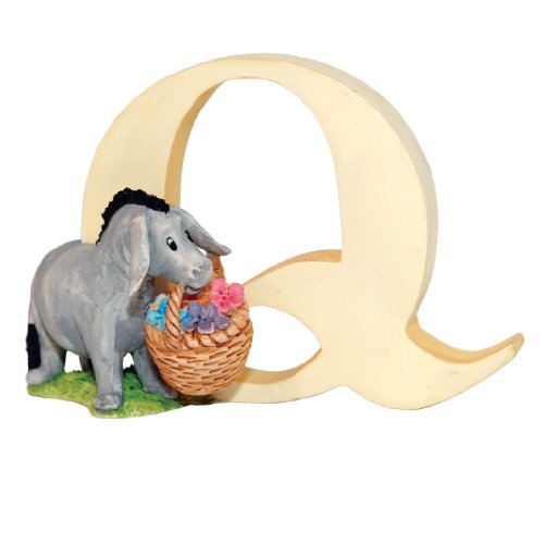 (Classic Pooh Classic Winnie The Pooh - Alphabet Letter Q - Eeyore With)