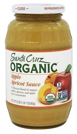 Santa Cruz Organic - Organic Apple Sauce Apricot - 23 oz