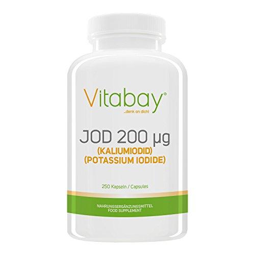 Jod 200 µg - aus Kaliumiodid - 250 Kapseln