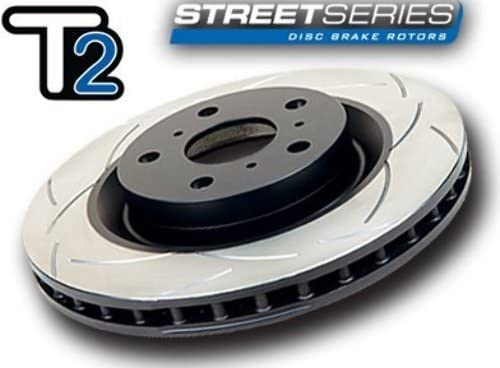 DBA Street Series Slotted Disc Brake Rotor 652S Front