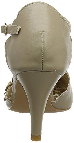 Joe Browns Women's Broadway Babe Shoes Ankle Strap Heels Beige (Taupe) WVIW8ot