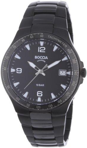 Boccia Men's Titanium Bracelet Watch B3549-03 ()