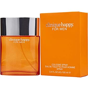 Happy For Men Clinique Cologne Spray 3.4 Oz M