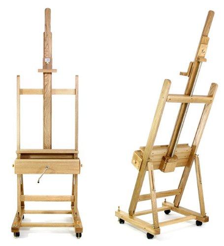 Artina Profi Staffelei Pisa Atelierstaffelei Holzstaffelei massiv