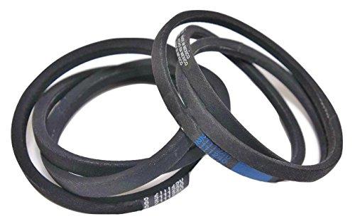 2 Belt Set - Maytag Washer Belt Pump & Drive Set (2 Belts), 211125 & 211124, 12112425