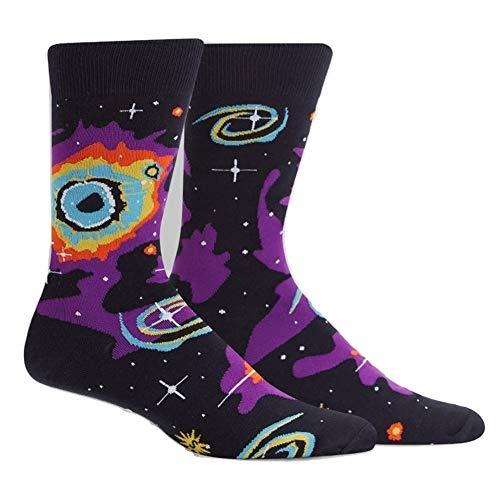 Sock It To Me, Men's Crew Sock, Helix Nebula (Best Telescope To View Nebula)