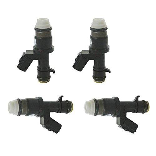 JRL Set of 4 Fuel Injectors For HONDA ACCORD 16450R40A01 2.4 Liter 4 Cyl 2008-2012