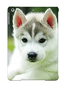 Crazinesswith OuKhVmk11370zFhab Case For Ipad Air With Nice Husky Puppy Appearance