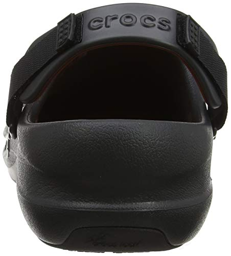 Unisex Crocs Bistro black Clog Nero Zoccoli Pro OqfTq0